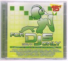 FOR DJS dj's ONLY  2008/01 CLUB SELECTION - 2 CD F.C. SIGILLATO!!!