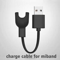 USB Lade Daten Cradle Dock Kabel Ladegerät für Xiaomi Mi Band 3 Armband _Schwarz