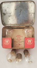 1920's Emergency Auto  Bulb Kit Westinghouse Mazda Lamps Hard to Find