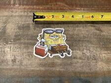 Igloo Playmate Spongebob Squarepants Sticker/Decal Outdoor Cooler Approx 3""