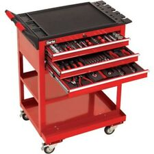 Clarke PRO395 182 Piece Tool Kit With 3 Drawer Service Cart 1700801