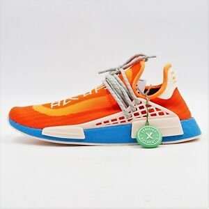 New in Box Adidas x Pharrell Williams HU NMD 'Extra Eye Orange' US M 11 -BBR2271