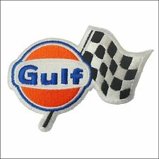Gulf Racing Ricamato Sew Su PATCH UFFICIALE PORSCHE 917 FORD gt40 LE MANS
