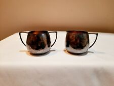 Vintage Empire Crafts Quadruple Silver Plate Creamer and Sugar Bowl collectible
