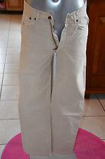 MARLBORO CLASSICS joli pantalon jeans habillé beige T W30 F40 EXCELLENT ÉTAT