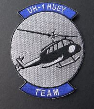 BELL UH-1 HUEY TEAM IROQUOIS HELICOPTER EMBROIDERED PATCH 3 INCHES