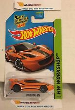 Lotus Evora GT4 #193 * Orange Kmart * 2014 Hot Wheels * Y59