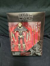 "Star Wars The Black Series General Grievous 6"" Clone Wars Deluxe Figure IN HAND!"
