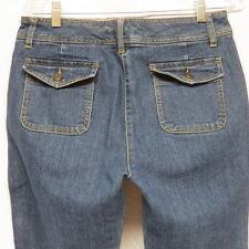 Crazy Horse a Liz Claiborne Company Jeans w Button-Down Pockets Size 8