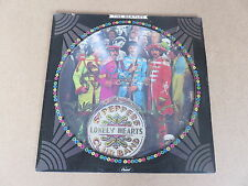 THE BEATLES Sgt. Peppers Lonely Hearts Club Band LP RARE USA 1978 PICTURE DISC