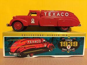 Ertl Texaco 1939 Dodge Airflow Tanker Truck Diecast Bank 1993 #9500 Series #10