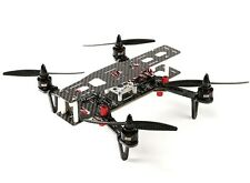 DYS 250 QUADCOPTER CARBON FIBER RACE DRONE W FOLDING ARMS & CASE PNF ASSEMBLED