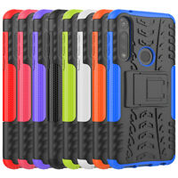 Rugged Hybrid Armor Shockproof Case Stand Cover For Motorola Moto G Power 2020