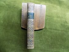 FABLES by JOHN GAY and by EDWARD MOORE 1802 relié plein veau