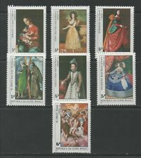 Thematic Stamps Arts - GUINEA BISSAU 1994 ESPANA PAINTINGS 835/41 7v mint