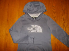 THE NORTH FACE GRAY HOODED SWEATSHIRT WOMENS SMALL EXCELLENT CONDITION