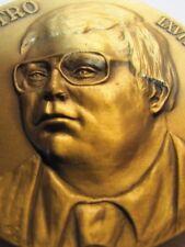 ROCHESTER NUMISMATIC ASSOCIATION BRONZE Medallion John NiCastro President 1978