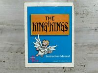 The King of Kings Nintendo NES Instruction Manual Booklet Only Wisdom Tree