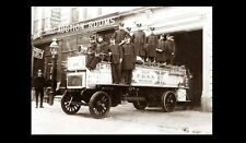 1912 New York City Firefighter PHOTO Vintage FDNY Fire Department Truck Engine