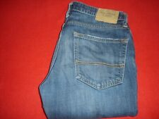 Mens Abercrombie & Fitch The A&F Super Skinny Blue Jeans sz 32 X 34