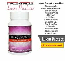 Luxxe PROTECT Pure Grape Seeds Extract 30Capsule Glutathione Booster Anti-Stress