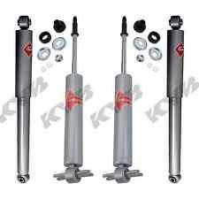 KYB 4 SHOCKS MERCEDES R107 C107 W107 380SL 380SLC 450SL SLC 560SL KG4522 KG5554