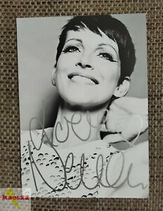 Nena Original signierte Autogrammkarte (Musik, Sängerin, Rock, Pop, NDW)