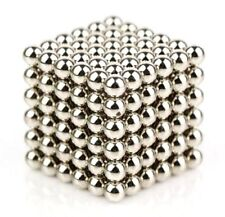 216 x 3mm Magic Magnetic DIY Balls Magnet Sphere Neodymium Beads Cube Kids Adult