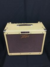 Peavy Classic 30 Tube Guitar Amplifier Tweed Blue Marvel Speaker Very Clean!