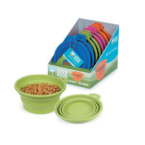 Guardian Gear Bend-a-bowl Collapsible Silicone Travel Bowl - Small or Medium
