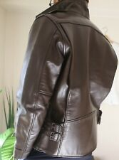 Japanese Leather Harley Davidson Biker Men's Motorcyle Jacket Medium