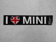 "Aufkleber ""I Love Mini"""