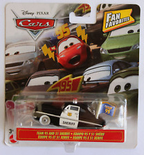 DISNEY PIXAR CARS FAN FAVORITES TEAM 95 SHERIFF SAVE 6% 8% FREE SHIPPING