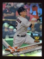 2017 Topps Chrome ALEX BREGMAN Logo Rookie Card RC REFRACTOR #9 Houston Astros