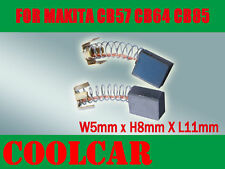 Carbon Brushes For Makita CB57 CB64 CB85 GV5000 4301SV 6510B-2 hammer drill AU