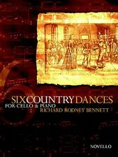 Six Country Dances Learn to Play English Dancing VIOLA Piano Music Book