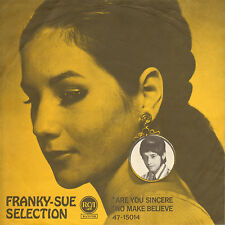 FRANKY-SUE SELECTION - Are You Sincere (RARE 1967 NEDERPOP SINGLE WITH PS)