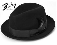 FAMOUS BAILEY'S TINO CLASSIC  DRESS FEDORA GANGSTER GODFATHER HAT