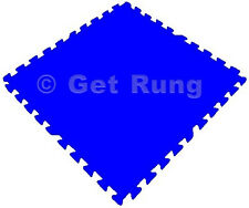 New 54 Tiles 216 Sq Ft Interlocking EVA Foam Mat Flooring Gym Playground Blue