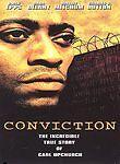 CONVICTION FULL SCREEN DVD MOVIE OMAR EPPS DANA DELANY TRUE STORY FREE SHIPPING