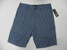 Billabong Walkshort Shorts Size 32 Plaid Navy Blue