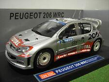 PEUGEOT 206 WRC #2 RALLYE FINLAND 1/18 SUNSTAR SUN STAR 3852 voiture miniature