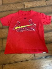 Majestic Youth St. Louis Cardinals Albert Pujols #5 T-Shirt Size s