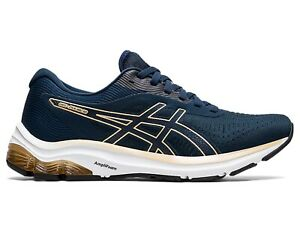 SCARPE RUNNING DONNA ASICS  1012A724 403  GEL PULSE 12 FRENCH BLUE/CHAMPAGNE