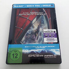Marvel Amazing Spider-Man 2 Rise of Electro Blu-ray Steelbook Movie Spiderman 4K