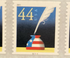 4496 - .44 Patriotic Quill & Inkwell - PNC5 - #S11111 - MNH