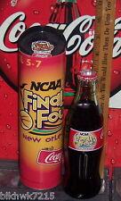 2003 NCAA FINAL FOUR BASKETBALL NEW ORLEANS APRIL  8OZ COCA COLA BOTTLE & TUBE