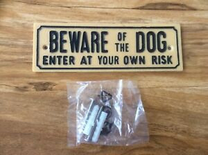 Beware of the Dog - Plastic Sign