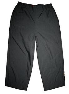 Schneider Sportswear 3/4 Hose Damen Freizeithose Capri Hose schwarz Gr. 36