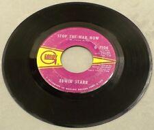 "1970 SOUL Edwin Starr - Stop The War Now / Gonna Keep On Tryin' Till I Win 7"" 45"